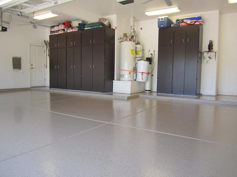 Garage Floor Epoxy April 2017