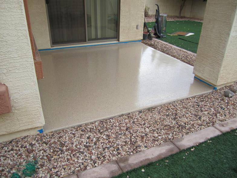 Patio epoxy coating outdoor goods Exterior concrete floor coatings